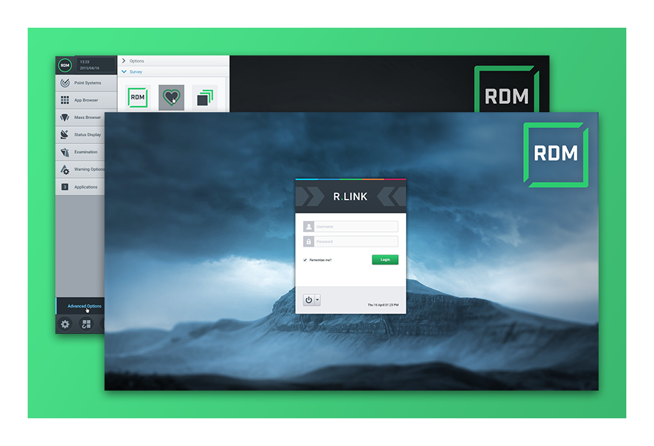 "Project ""RDM"" App description..."
